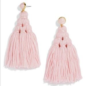 NWT Baublebar Blush pink Miana tassel drop earring